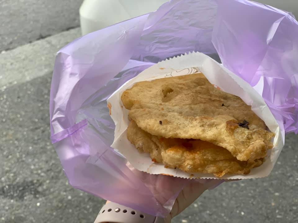 宜蘭。頭城。阿伯蔥油餅。阿嬤蔥油餅