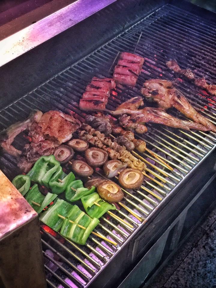 花蓮。海岸路烤肉。南海二街烤肉。